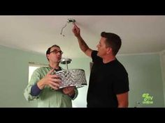 How To Install a Light Fixture - YouTube