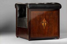 ** Josef Hoffmann armchair  For the Baroness Magda Mautner von Markhof  1903-05