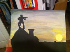 Fiddler on the Roof Inspired painting 16 x by TheDisneyYouRemember