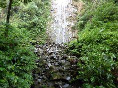 Small waterfall at La Fortuna.