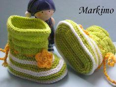 MÄRZenbecher Babybooties in 4 Größen ab von Markimo auf DaWanda.com