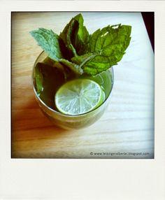 Gurken Minz Drink mit Limetten - alkoholfrei
