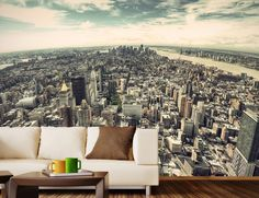 Start living the soul of NYC even when you're not there with this amazing 5th Ave NYC Removable Wall Mural.