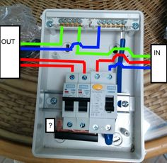 How to wire rcd in garage shed consumer unit uk consumer unit wiring a garage consumer unit cheapraybanclubmaster Choice Image