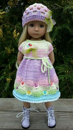 "OOAK Outfit for doll 13"" Dianna Effner Little Darling hand made #DiannaEffner"