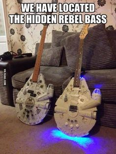 Star Wars guitars - I might have to learn to play guitar so I can get one!