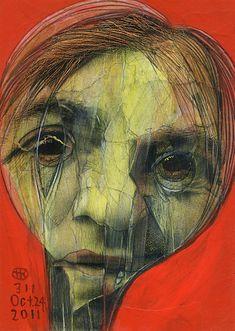 Recent Broken Faces by TAKAHIRO KIMURA, via Behance