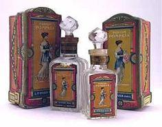 """1910s Perfume Bottles for Piver """"Pompeia""""."""