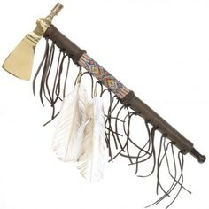Indian Tomahawk Peace Pipe 26888    Alltribes
