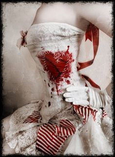 Raggedy Ann corset by mariadelcarmen.saavedraoliva