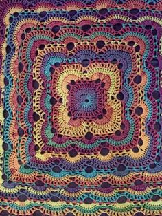 Virus Blanket No Pattern with thus. I just love the colors