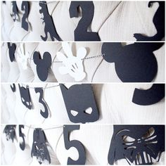 Modern kids party, modern birthday party, modern mickey party, modern batman party, darth vader party, star wars party, black and white party, monochrome birthday party