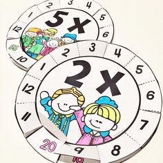 Multiplication Wheels - get creative with times tables 2-12 #teacherspayteachers…