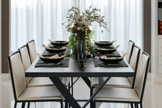 Xerox Applications - Contemporary Retail & 27 Modern Dining Table Setting Ideas | Place setting Cloth napkins ...