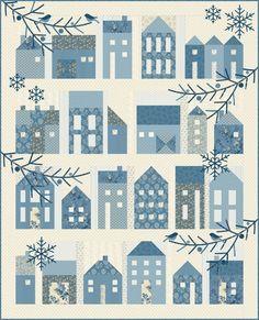 Image result for winter village quilt pattern