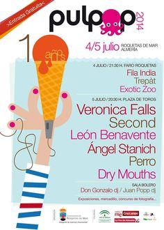 Festival Pop Indie en Plaza Toros Roquetas 2014 Verona, Indie Pop, Dj, Pageants, Pageant Photography, Exhibitions, Souvenirs, Fotografia