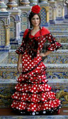 2eab3da288f53 South Of Spain, Spanish Style, Flamenco Dresses, Spanish Dress Flamenco,  Spanish Dancer