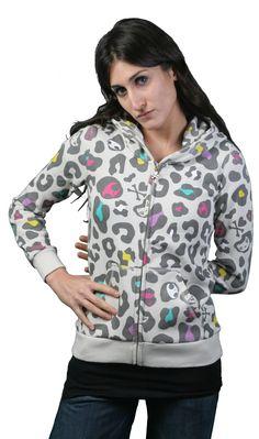 Tokidoki leopard hoodie