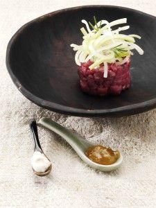 Buon appetito con la deliziosa Tartara di filetto manzo dello chef Dal Degan con #FiordifruttaFichi
