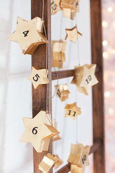 Star Garland Advent Calendar - Holiday DIYs That Are So Elevated - Photos