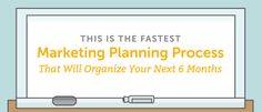 The 1-Day Marketing Planning Process To Organize Your Next 6 Months What if you could get organized, use your time more efficiently, and focus on the right projects every time?   #MarketingPlanningProcess