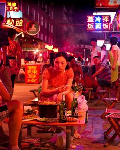 Asian Food Life on Nanchang Lu: Capture the Colour Contest: China in Five Colours - - Chinese Street Food, Asian Street Food, Chinese Restaurant, Restaurant Design, Film Photography, Street Photography, First Art, Chinese Market, Asian Restaurants