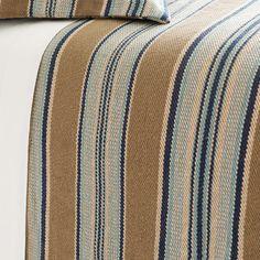 Pine Cone Hill Blue Heron Cotton Blanket & Reviews | Wayfair