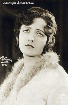 Jadwiga Smosarska ca 1920s.