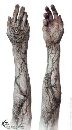 The Art Of Ken Barthelmey - Creature Designer / Concept Artist . The Art of Ken Barthelmey - Creature Designer / Concept Artist - Entertainment Back Tattoos, Body Art Tattoos, Tattoo Drawings, Sleeve Tattoos, Tattoos For Guys, Cool Tattoos, Tattoo Art, Tatoos, Maze Runner Death Cure