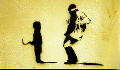 Sickle Kid, Banksy