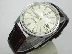 Vintage 1964 JAPAN SEIKO SPORTSMATIC CALENDAR 820  828960 17Jewels Automatic.