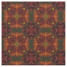 Dark Red Flowers Grid 1