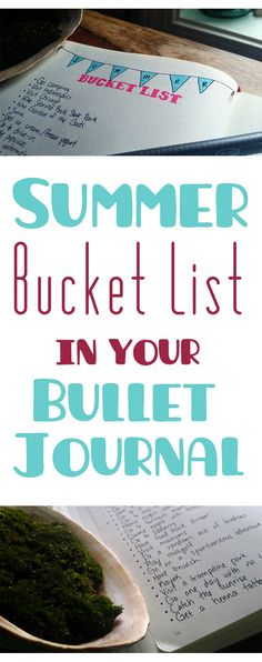 Do the summer months tend to escape you before you can have those summer adventures? Consider planning out a summer bucket list!
