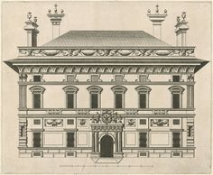 Peter Paul Rubens | Palazzo Doria Spinola, Peter Paul Rubens, 1622 | Voorgevel van Palazzo Doria Spinola (Prefettura), gelegen aan de largo Lanfranco te Genua. Het palazzo werd tussen 1541 en 1543 gebouwd.