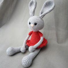 Crochet Toys, Tweety, Crochet Projects, Easter, Knitting, Character, Rabbits, Amigurumi, Bebe