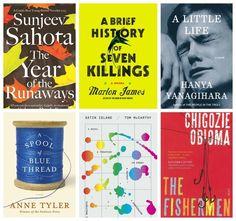 2015 Booker Short List