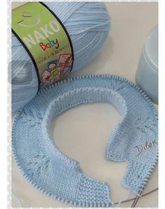 Baby Knitting Patterns Techniques Pin from Carmen Fernandez Pereira on the board tu . Baby Knitting Patterns, Knitting For Kids, Easy Knitting, Knitting For Beginners, Knitting Stitches, Knitting Designs, Knitting Ideas, Diy Crafts Knitting, Diy Crafts Crochet
