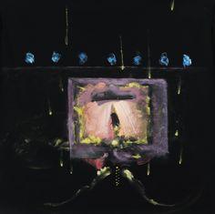 NATA,La parte buia del giorno,1990, cm140x140