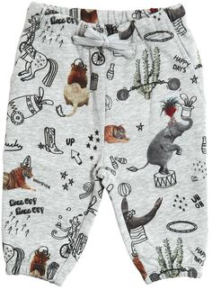 Circus Printed Cotton Jogging Pants