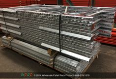 #MaterialHandling Looking for a pallet rack coating that will resist corrosion from harsh outdoor conditions or damp conditions such as a cooler? Galvanized Pallet Rack may be the right solution for you.  http://www.wprpwholesalepalletrack.com