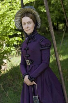 Miss Galindo (Emma Fielding) in Cranford (BBC TVseries, 2007) #CostumeDesign: Jenny Beavan