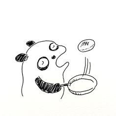 【一日一大熊猫】2017.2.19 業務用スーパーで冷凍コロッケ10個入りで200円以下で売ってたので、 レンジで温めれば良いのだと勘違いして買ってしまったよ。 コロッケが油を吸い込んで終わる程度の油を入れて両面がカリカリになるように焼くと激ウマ! 結果良かったよ。 #パンダ #冷凍食品