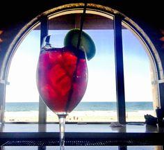 Drink of the Week | Shores Sangria - pinot noir, brandy, peach liqueur, orange juice. #TheShoresRestaurant Happy Hour starts at 3 p.m. #TGIF