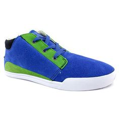 Azul. Oryginalne niebiesko-zielone zamszowe #buty sportowe.   Cena: 179 zł