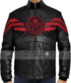 Captain Hydra Leather Jacket