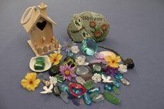 Fairy House and Treasure Kit, Deluxe. $15.00, via Etsy.
