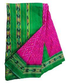 Vintage Saree Patola Silk Sarong Decorative Fabric by VintageHaat