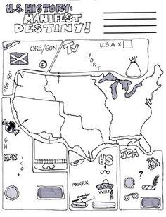 90 Best Manifest Destiny images   Teaching social studies, Social ...
