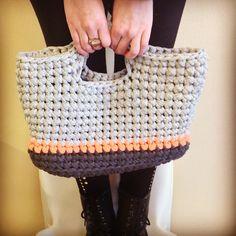 © tjou-tjou Straw Bag, Crochet, Bags, Accessories, Fashion, Handbags, Moda, Fashion Styles, Chrochet