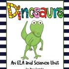 This dinosaur unit will surely be a hit with your students.  A great ELA and science unit.